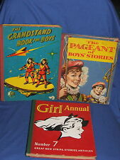 The Grandstand Book For Boys The Pageant of Boys' Stories & Girl Annual No. 7