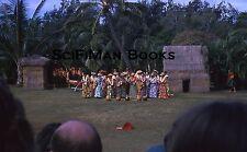 KODACHROME 35mm Slide Hawaii Oahu Honolulu Kodak Hula Show Waikiki Shell 1974!!!