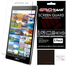 2x of TECHGEAR MATTE ANTI GLARE Screen Protectors For Asus ZenPad 8.0 Z380C