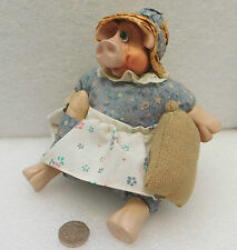 Russ Berrie pig ornament Ms Hogmore Kathleeen Kelly Decorative animal doll