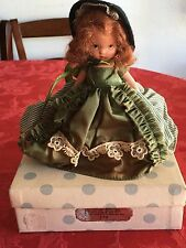Nancy Ann Storybook Doll # 174 Flossie,In Original Box &metal stand