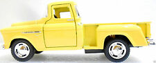 "1955 USA GM Chevrolet Chevy 55 Die cast Pickup Truck Short Bed Replica 5"" Yellow"