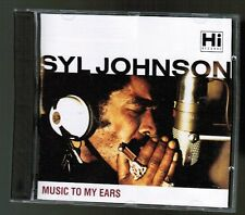 Syl Johnson: Music to my Ears soul CD (licensed Hi Records) `91 Cream UK 26-trax