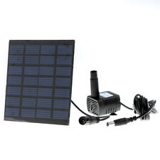Solar Power Panel Garden Fountain Pond Pool Water Pump Garden Plants Watering