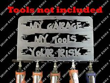 My Tools Your Risk Air Tool Holder Organizer Garage Funny Christmas Gift Idea