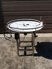 "Accumulation Rotary Turntable S/S 304 . 36"" plate (NEW)"
