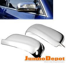 2X Chrome ABS Rearview Mirror Cover For 98-04 VW Jetta Golf MK4/99-04 Passat B5