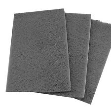 Lot of 5 Grey Scuff Pads Mirka Brand  *Free Shipping*  Scotch Brite Mirlon Total