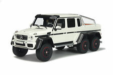 1:18 GT Spirit GT100 Mercedes G63 AMG 6x6. Diamond White / Carbon Fibre Arches