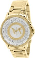 Armani Exchange Women's AX4321 Gold Stainless-Steel Quartz Watch