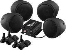 Boss Audio Motorcycle/ATV/UTV Black Speaker System 1000W Bluetooth (MCBK470B)