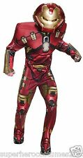 Avengers Age Of Ultron Hulk Buster Deluxe Muscle Adult Costume New - 810299