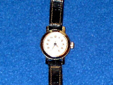 Very Nice Elgin Starlite Watch. Leather Band. 17 Jewels. Real Nice Womans Watch.