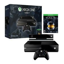 Microsoft Xbox One Halo Black Kinect Console 500GB