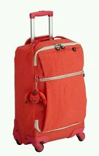 Kipling Darcey coral rose ct cabin bag trolley case spinner 55cm 30l coral rose