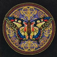 Counted Cross Stitch Kit ORNATE BUTTERFLY Dimensions Gold Collection