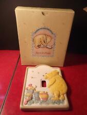 Disney Classic Winnie the Pooh Ceramic Light Switch Plate Cover by Charpente BOX