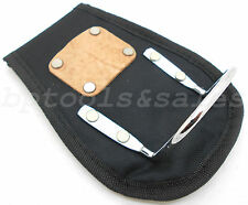 """Hammer Holder fits 3"""" Tool Belt Heavy Duty Padded Leather Nail Clip New"""