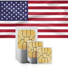 USA Daten SIM + 500 MB im AT&T Netz