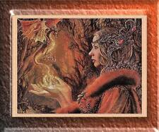 Mystic Maiden With A Dragon~Delica Bead Peyote Pattern Only