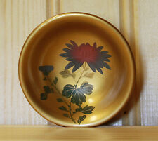 SET OF 3 VINTAGE LACQUERWARE SOY SAUCE BOWLS MADE IN OCCUPIED JAPAN