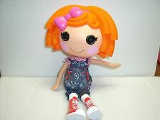 "Lalaloopsy Sunny Side Up Twin Doll Orange Hair 12"" tall Full Size 2009"