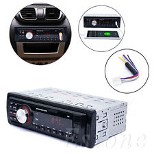 Car Radio 12V Auto Audio Stereo DIN In-Dash MP3 Player Support FM SD AUX USB
