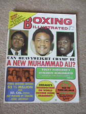 BOXING ILLUSTRATED MAGAZINE DECEMBER 1974 MUHAMMAD ALI GEORGE FOREMAN FRAZIER