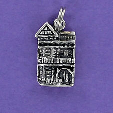 Victorian Row House Replica Charm Sterling Silver 925 for Bracelet San Francisco