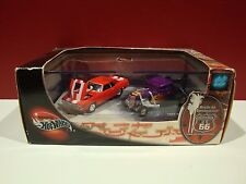 100% Hot Wheels Route 66 Pro Street Camaro 34 Ford Rendezvous Real Riders SET