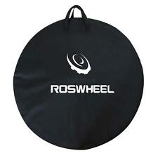 Bicycle Bike Road Cycling Single Wheel Bag Carrier Transport Cover Roswheel