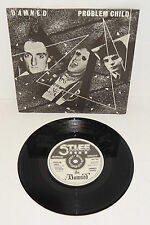 "THE DAMNED PROBLEM CHILD 1977 STIFF RECORDS A1/B1 7"" 45rpm; P/S"