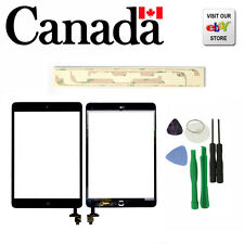 iPad mini Touch Digitizer Screen + IC Connector Home Button Flex A + free tools