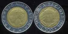 ITALIE   ITALY  500 lire 1994