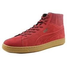 Puma Suede Mid Emboss Men US 14 Red Sneakers