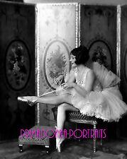 "HELENE COSTELLO 8X10 Lab Photo 1920s ""ALFRED C. JOHNSTON"", Ballet Slippers Scene"