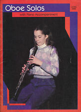Oboe solos Level One
