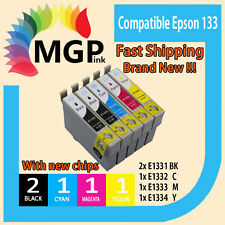 5x GENERIC INK cartridges T133 for Epson Stylus N11 NX125 NX130 NX230 NX420