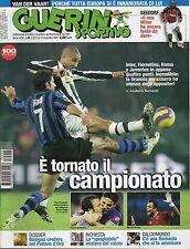 rivista GUERIN SPORTIVO ANNO 2007 NUMERO 45 FIGO - TREZEGUET