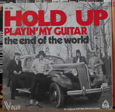HOLD UP PLAYIN' MY GUITAR CAR COVER BELGIUM PRESS SP GNOME 1973