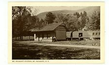 Mount Pleasant NY - MT PLEASANT U&D RAILROAD STATION - Postcard Catskills