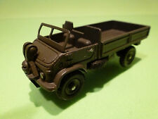 DINKY TOYS 567 MERCEDES BENZ UNIMOG - ARMY GREEN 1:50 - VERY GOOD - MILITARY