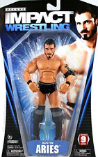 "TNA IMPACT WRESTLING AUSTIN ARIES superposeable 6 ""giocattolo figura, Boxed WWE Elite"