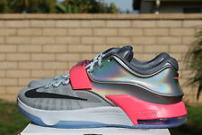 NIKE KD VII AS SZ 10.5 ALL STAR 2015 PURE PLATINUM KEVIN DURANT ASG 7 742548 090
