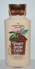 NEW BATH & BODY WORKS GINGERBREAD LATTE LOTION CREAM SHEA BUTTER VITAMIN E 8 OZ