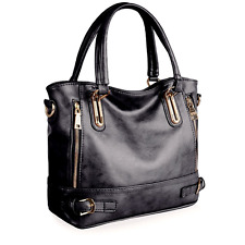 VANCOO Lady Women's Vintage Style Soft Leather Bag-  Large Shoulder / Handbag