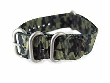 22mm Nylon Watch Strap Camouflage Army Band Sports New Pattern Parts wristband