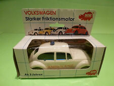LUCKY  DICKIE VW BEETLE -  VOLKSWAGEN KAFER  IN ORIGINAL BOX   - GOOD CONDITION