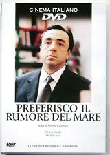 Dvd Preferisco il Rumore del Mare con Silvio Orlando 2000 Usato editoriale