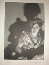 The Shadow art photograph female Dr Alfred Grabner 1934
